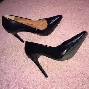 Black stilettos, only worn once!